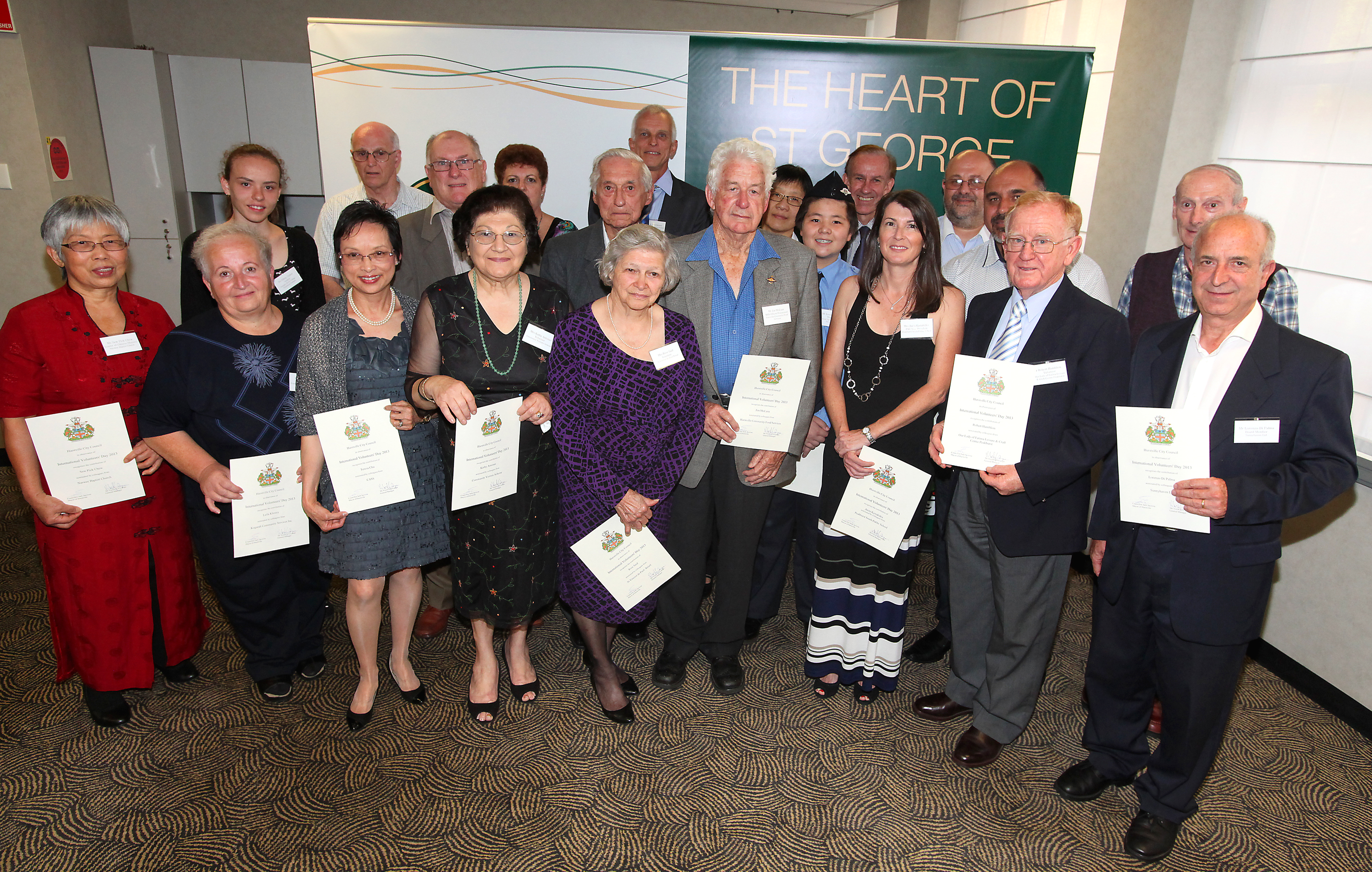 Hurstville Volunteers Awards 2014